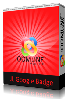 модуль Google badge для joomla